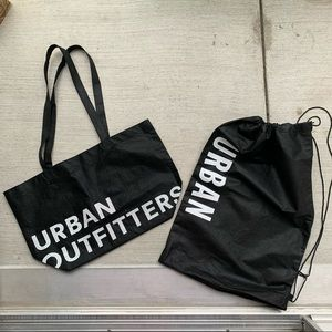 Set of 2 Reusable Urban Outfitters Tote Bags